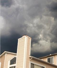 Chimney Sweep Protects from Storm in Jacksonville Florida