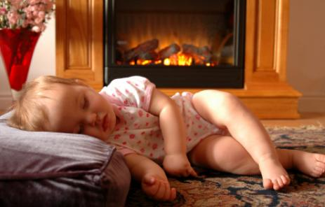 Chimney Sweep in Jacksonville Florida keeps baby safe